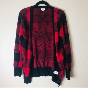 Buffalo Check Red Sweater